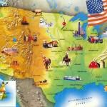 География, климат и окружающая среда в США
