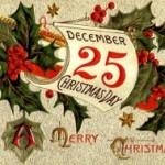 25 декабря — Католическое Рождество