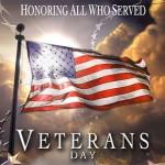11 ноября — День ветеранов — окончание первой мировой войны