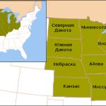 Штаты Среднего запада США
